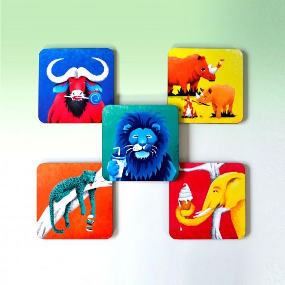 The Big 5 coasters