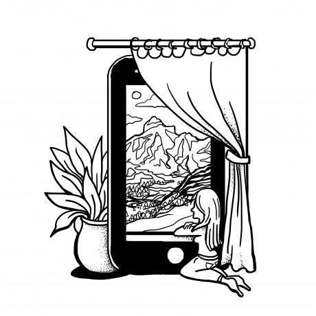 Manouk sketches for Expozed
