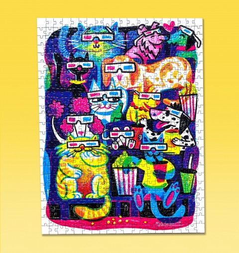 Puzzle 'Movie Time'