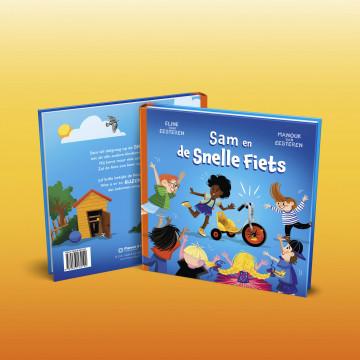 Prentenboek 'Sam en de Snelle Fiets'
